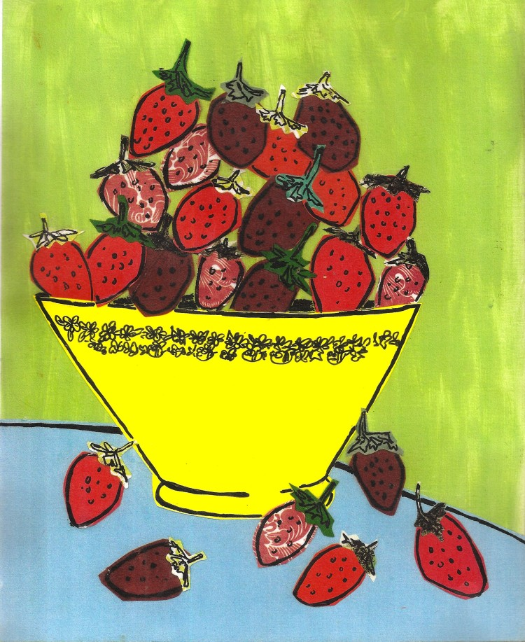 strawberry stilllife